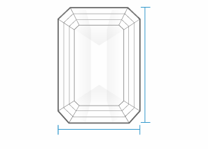 Diamond Details - Top View
