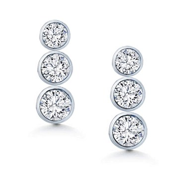 in majesty set gold yellow cut pushbacks earrings diamond solitaire with stud bijoux o y bezel round