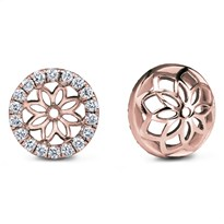 Diamond Halo Earring Jacket | E5157