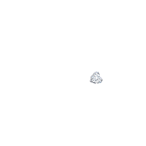 0.91 ct. Heart I VS1