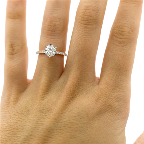 Classic Pave Engagement Setting