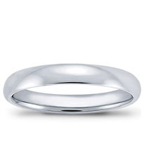 4mm Comfort-Fit Wedding Band, $300