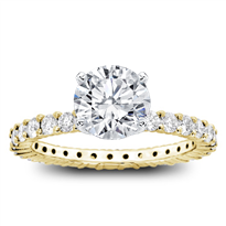 Shared Prong Diamond Eternity Band Setting 1cttw, $1,820