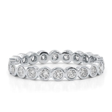 set bezel ct diamond band bands eternity round