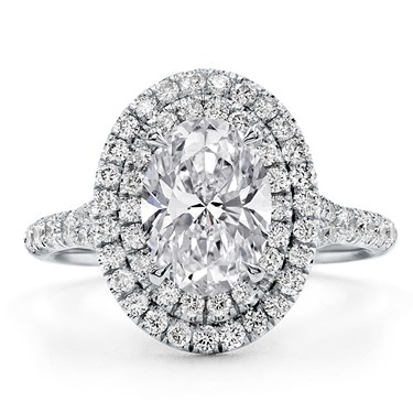 Double halo oval engagement ring setting r3115 double halo oval engagement ring setting junglespirit Images