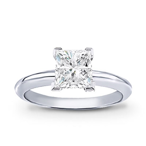 Princess Cut Diamond Solitaire Ring (1 ct. wt)