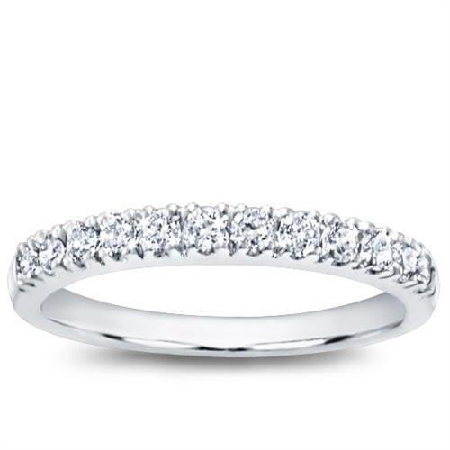 Pave Set 0.30 cttw Diamond Wedding Band