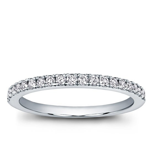 Classic Pave Wedding Band