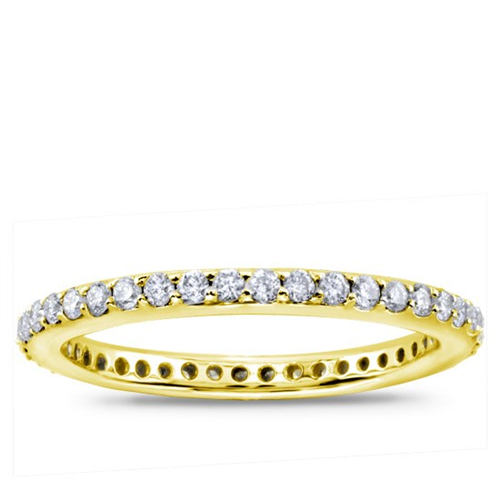 Shared-Prong 1/2 cttw Diamond Eternity Band