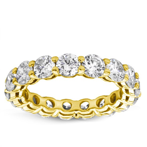 Shared-Prong 5 cttw Diamond Eternity Band