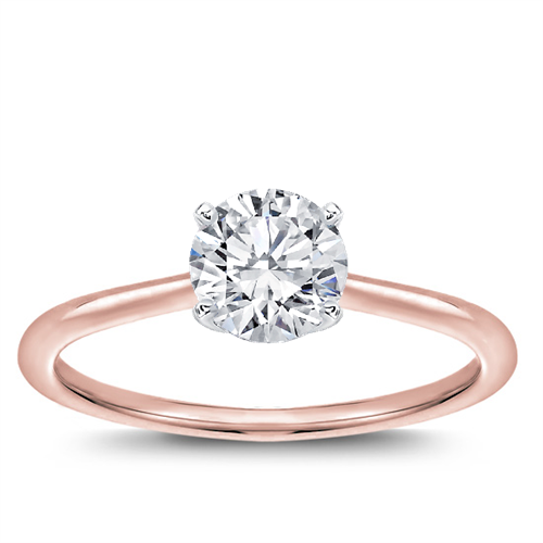 Dainty Solitaire Engagement Setting