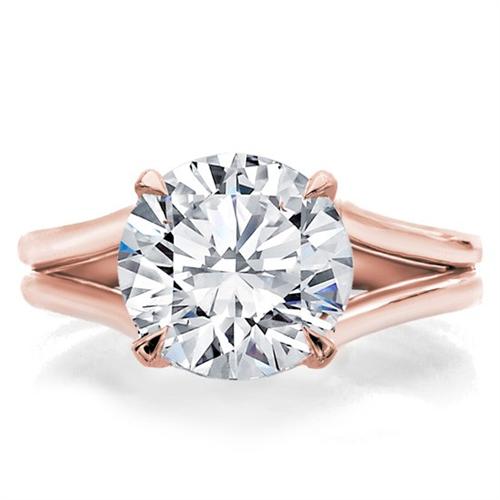 Split Shank Engagement Ring Setting