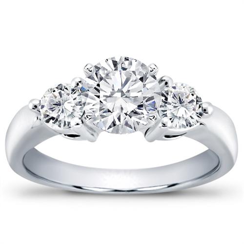 a28e0c5b5a67a 1/2 ct. tw. 3-Prong Diamond Engagement Setting