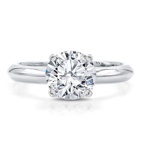 cbf2656f55890 The Perfect Solitaire Engagement Ring Setting