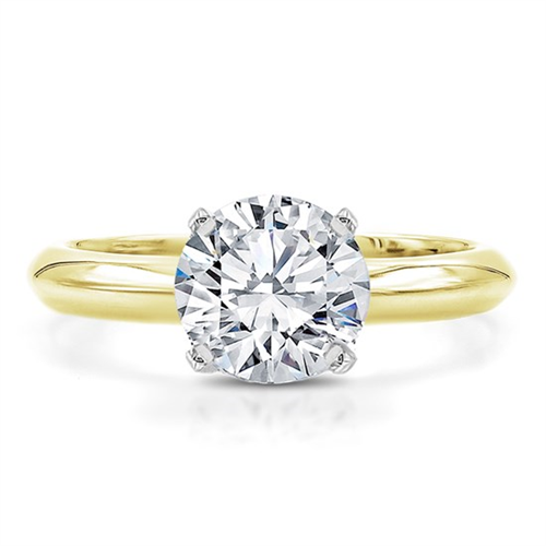 The Perfect Solitaire Engagement Ring Setting