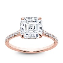 French Cut Basket Setting Diamonds 1/2 Way | R2981