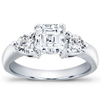 1/2 Ct. Tw. 3-Prong Diamond Engagement Setting | R2710