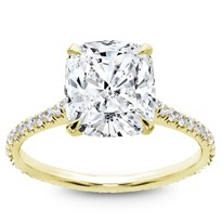 Diamond Eternity French Pave Engagement  Setting | R2997