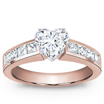 3/4 Ct. Tw. Channel-Set Engagement Setting (0.75 Cttw) | R2508