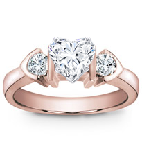 Engagement Setting With Round Diamonds | R2492