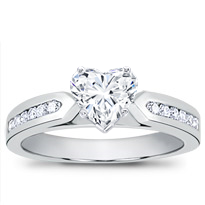 1/4 Ct. Tw. Channel-Set Engagement Setting | R2784