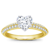 Pave Engagement Setting (3.5mm) | R2794