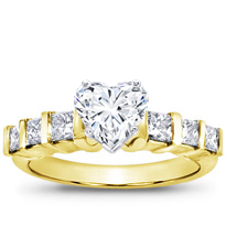 Diamond Engagement Setting (0.66 Cttw) | R2421