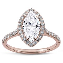 French Cut Halo For Marquise | R2962