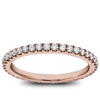Classic Pave 1/2 cttw Diamond Eternity Band | Adiamor