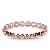 Vintage Style Eternity Band With Round Diamonds, $1,595