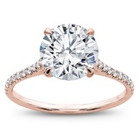 French Cut Basket Setting Diamonds 1/2 way