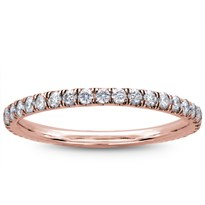 French Cut 1/2 cttw Diamond Eternity Band 1.7mm, $1,375