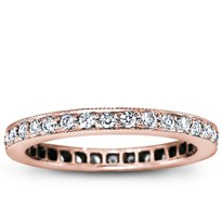Pave Set 1/2 cttw Diamond Eternity Band | Adiamor
