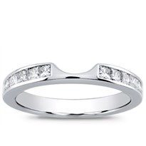 Princess Cut 0.70 cttw Matching Band for R2918, $1,350