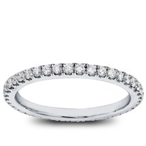 Classic Pave 1/2 cttw Diamond Eternity Band, $1,150