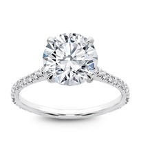 French Cut Basket Setting Diamonds 3/4 down , $1,250