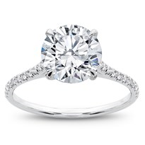French Cut Basket Setting Diamonds 1/2 way, $1,150