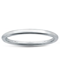 Solid Metal Wedding Band 1.5mm, $110