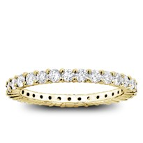 Shared-Prong 1cttw Diamond Eternity Band, $1,875