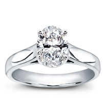 Basket Solitaire For Oval Diamond | R2927