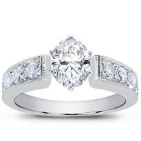 Graduated Pave Engagement Setting | R2594