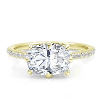 8 Prong Diamond Basket Engagement Ring Setting | R3053