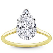 Cathedral Platinum Basket Solitaire 1.5mm | R3044