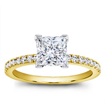 Classic Pave Engagement Setting | R2934