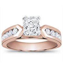 3/4 Ct. Tw. Channel-Set Engagement Setting (0.70 Cttw) | R2788