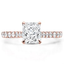 French Cut Basket Engagement Setting 2mm | R3071