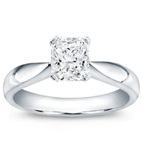 Tapered Solitaire Engagement Setting | R2889