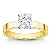 Flat Edge Solitaire Setting (3.0mm) | R2582
