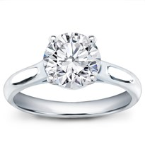 Basket Solitaire For Round Diamond | R2906