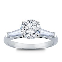 Tapered Baguette Three Stone Setting | R3038